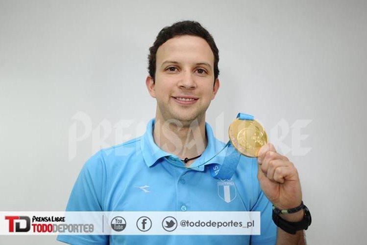 Kevin Cordón ganó en Toronto su segunda medalla de oro panamericana. (Foto Prensa Libre: Hemeroteca PL)