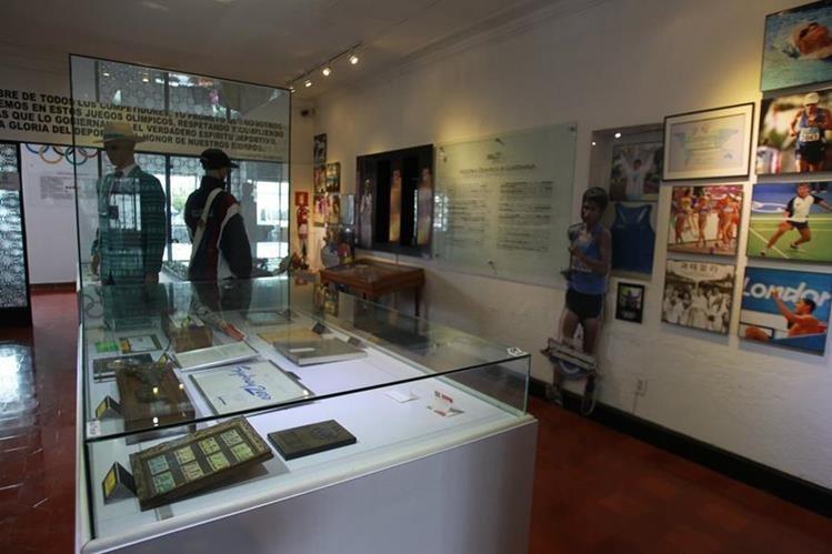 El Museo Olímpico será uno de los recintos que se podrán visitar. (Foto Prensa Libre: Ángel Elías)