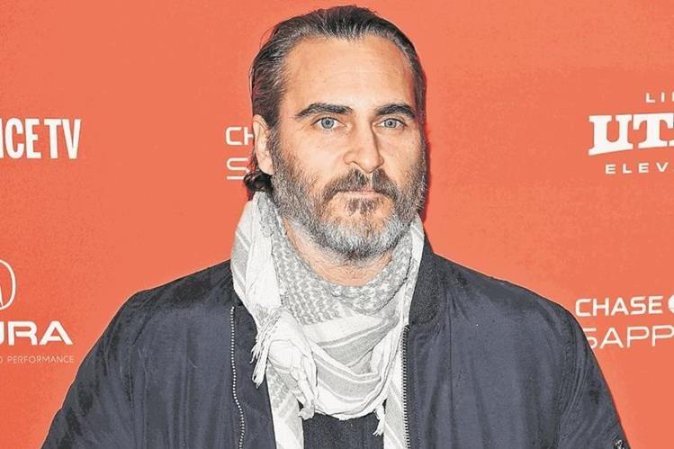 Joaquin Phoenix será el encargado de presentar una nueva versión de The Joker (Foto Prensa Libre: AFP).