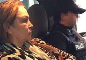 """Guadalupe Fernández Valencia, la """"Patrona"""", señalada como presunta operadora financiera del Chapo. (Foto: Twitter)."""