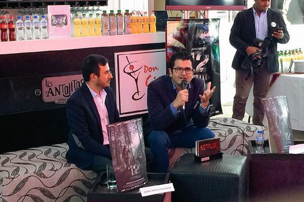El cineasta Kenneth Müller habló de su triunfo en México, en la reciente entrega de los Premios Netflix. (Fotos Prensa Libre)