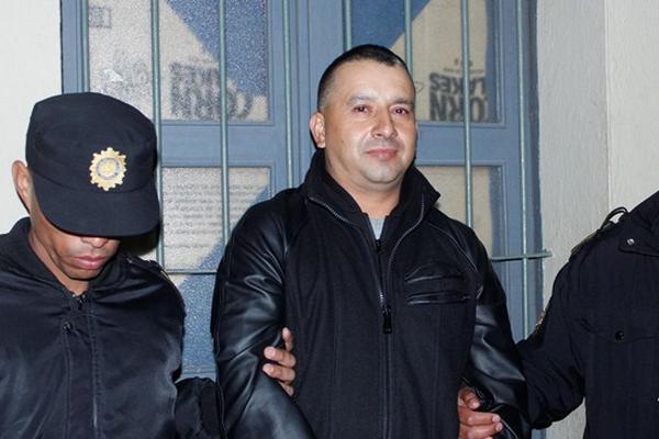 Amado Waldemar Calderón, capturado en Chimaltenango, es sindicado de pertenecer a la banda de Guayo Cano. (Foto Prensa Libre)