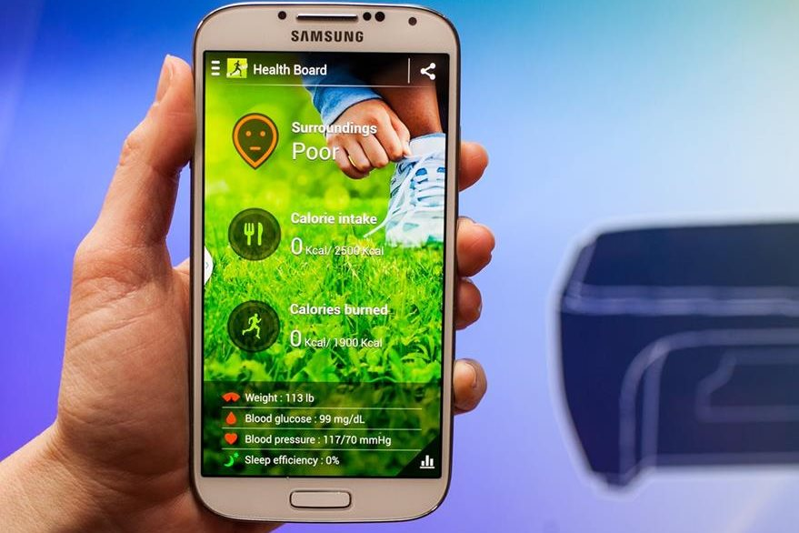 S Health, de Samsung (Foto: Hemeroteca PL).