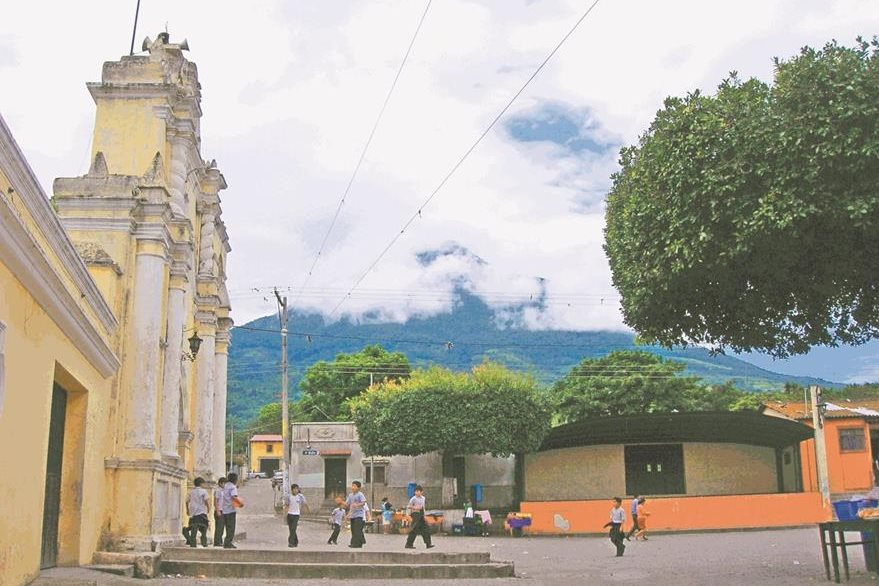 Parque de San Miguel Escobar donde se han descubierto evidencias de ser el lugar exacto donde estuvo asentada la ciudad de Santiago en el valle de Almolonga. (Foto: Hemeroteca PL)