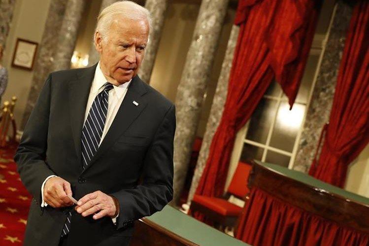 Joe Biden, vicepresidente de EE. UU. entregará el cargo el 20 de enero próximo. (Foto Prensa Libre: AFP).
