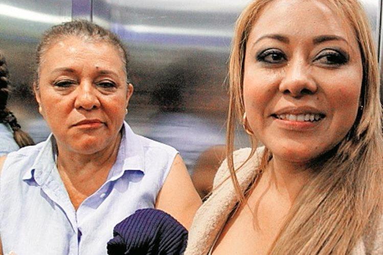 La exdiputada Emilenne Mazariegos y su mamá, siguieron la audiencia a través de una videoconferencia desde la cárcel de la Brigada Mariscal Zavala. (Foto Prensa Libre: Hemeroteca PL)