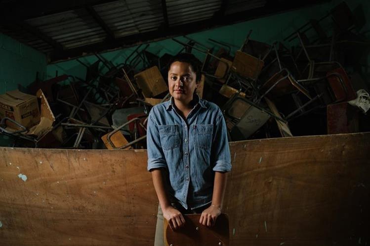 Vive en Brooklyn, Nueva York, EE. UU., y apoya a la escuela de San Pedro Ayampuc, comunidad donde nació. Foto Prensa Libre: David Benthal.