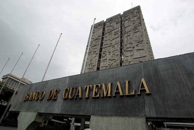 El Banco de Guatemala es la sede de la JM. (Foto Prensa Libre: Hemeroteca PL)