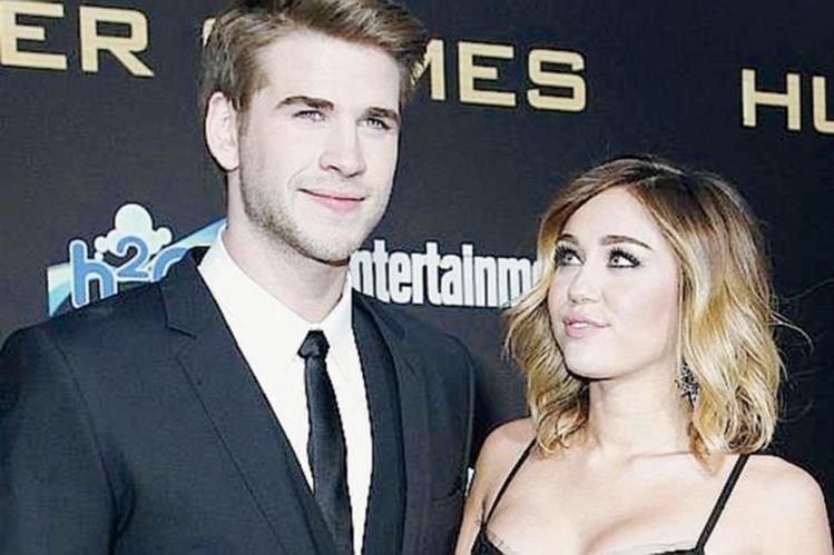 Liam Hemsworth y Miley Cyrus habían retomado su relación hace tres meses. (Foto Prensa Libre: HemerotecaPL).