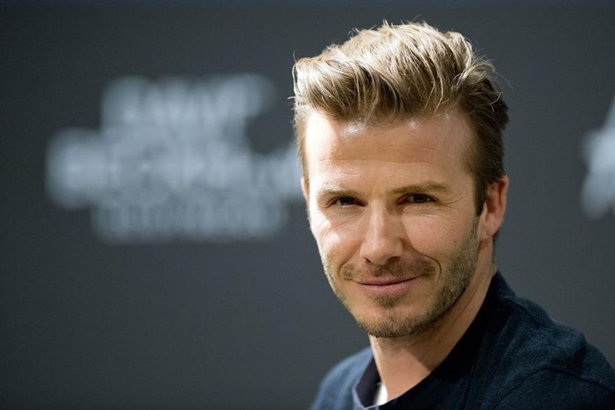 David Beckham obtiene reconocimiento como hombre sexy. (Foto Prensa Libre: AFP)