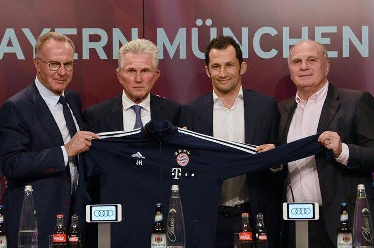 El contrato de Heynckes con el Bayern Múnich es hasta final de la temporada 2017-2018. (Foto Prensa Libre: AFP)
