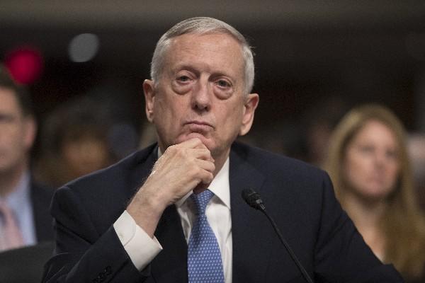 ames Mattis testifica ante el el Comité de Servicios Armados del Senado. (EFE).