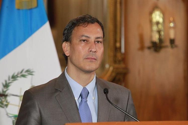Allan Marroquín, exinterventor de la portuaria Quetzal,(Foto Prensa Libre: Hemeroteca PL)
