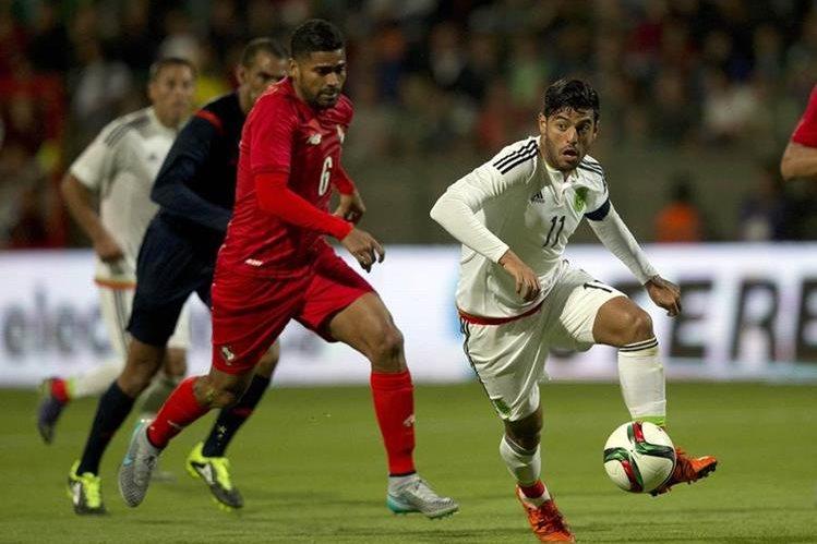 Con un solo gol de Carlos Vela, México superó a Panamá. (Foto Prensa Libre: AFP).