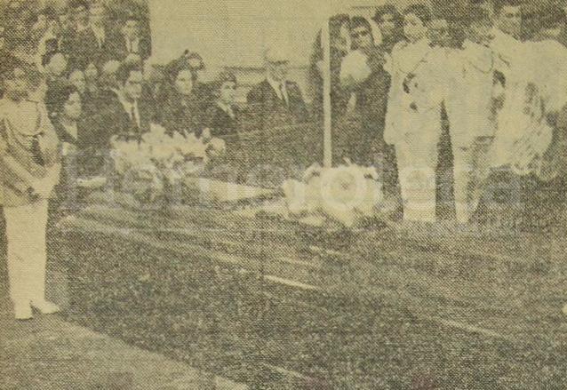 La misa de exequias se celebró en la Catedral Metropolitana, antes de partir hacia Alemania el 10 de abril de 1970. (Foto: Hemeroteca PL)