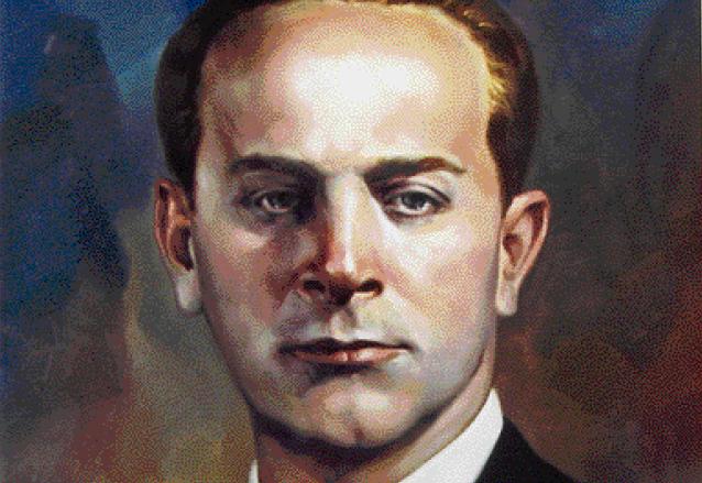 Retrato de Árbenz, pintado por el artista Manolo Gallardo. (Foto: Hemeroteca PL)
