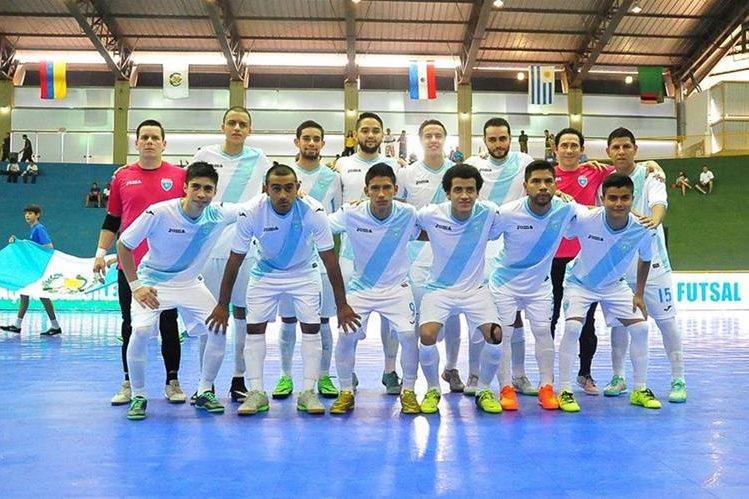La Selección de Futsal de Guatemala sumó su segunda derrota ante Zambia. (Foto Prensa Libre: Cortesía CBFS)