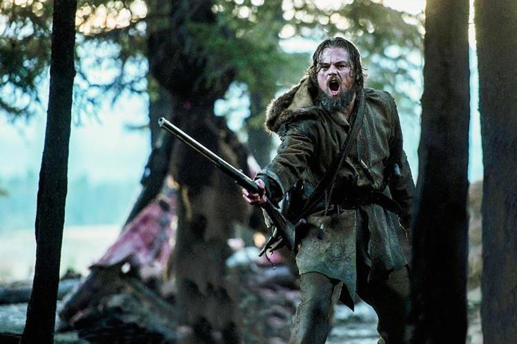Escena de El Renacido, película por la que Leonardo DiCaprio compite por un Óscar. (Foto Prensa Libre: Hemeroteca PL).