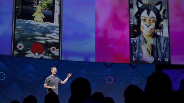 Mark Zuckerberg, CEO de Facebook, lleva tiempo copiando a Snapchat en diferentes plataformas.GETTY IMAGES