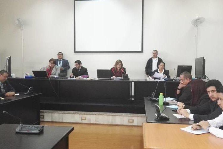 El Tribunal de Mayor Riesgo B dicta sentencia a la banda Los Topacio. (Foto Prensa Libre: Jerson Ramos)