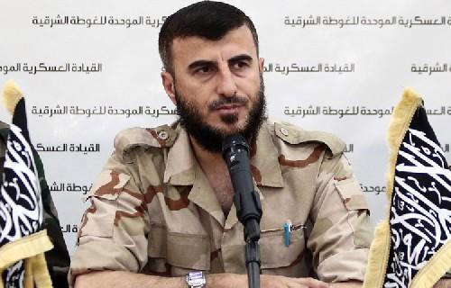 El líder del poderoso grupo rebelde sirio Jaish al-Islam, murió este viernes. (Foto: Internet).