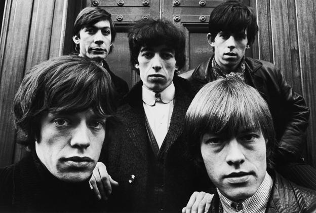 Los Rolling Stones, en sus inicios. (Foto: Hemeroteca PL).