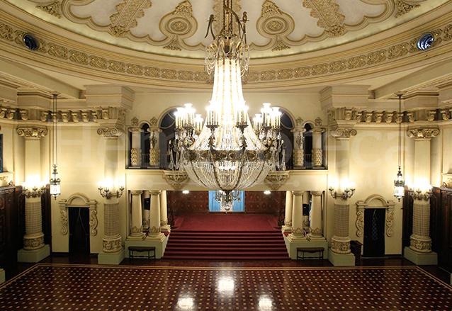 Salón de Banderas del Palacio Nacional de la Cultura. (Foto: Hemeroteca PL)