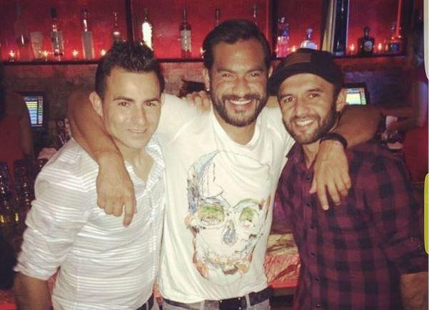 Carlos Ruiz muestra una imagen inédita junto a Marco Pappa y José Manuel Contreras. (Foto Instagram Carlos Ruiz).