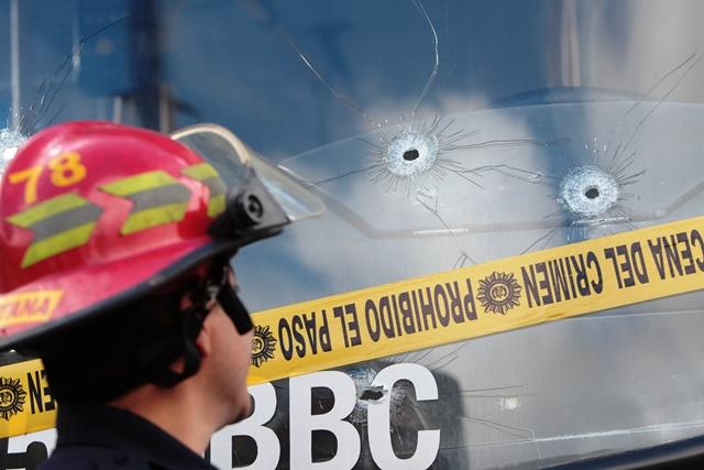 Los ataques contra pilotos son de los más frecuentes en la lista de acciones criminales. (Foto Prensa Libre: Hemeroteca PL)