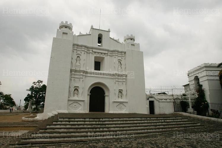 Fachada de la iglesia de El Carmen. (Foto: Hemeroteca PL)