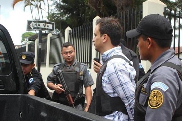 Jason Armando Yánez fue capturado en el 2014. (Foto Prensa Libre: Hemeroteca PL)