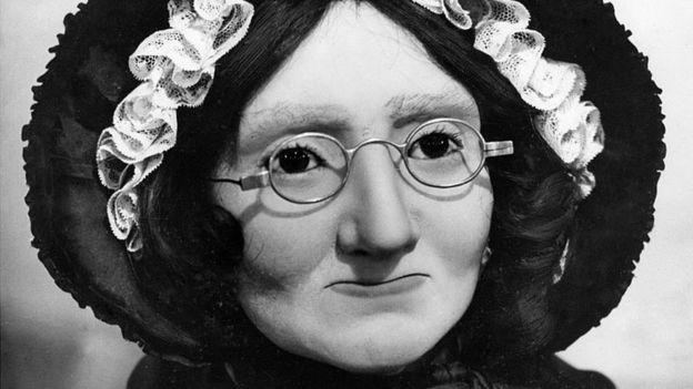 Ella misma era lo suficientemente famosa como para merecer una figura de cera con su semejanza. GETTY IMAGES