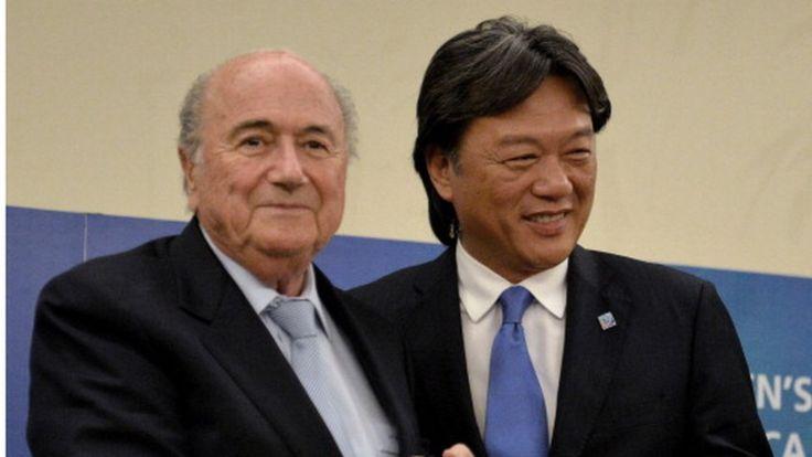 El expresidente de la federación Costarricense de Fútbol, Eduardo Li, es un ejemplo de la migración china al país. AP