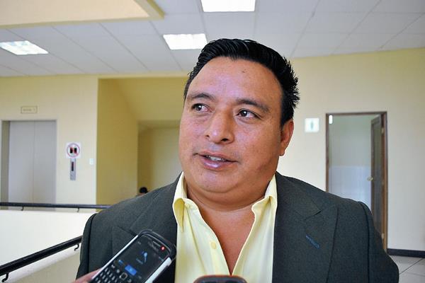 Mario Mencho, alcalde de Cajolá, perdió la inmunidad  debido a un antejuicio en su contra. (Foto Prensa Libre: Alejandra Martínez)