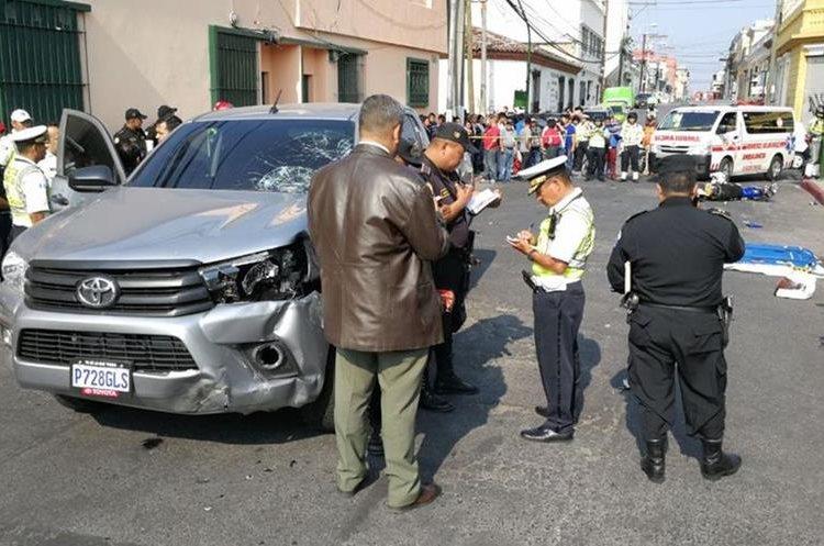 El MP investiga el hecho. Foto Prensa Libre: Érick Ávila.