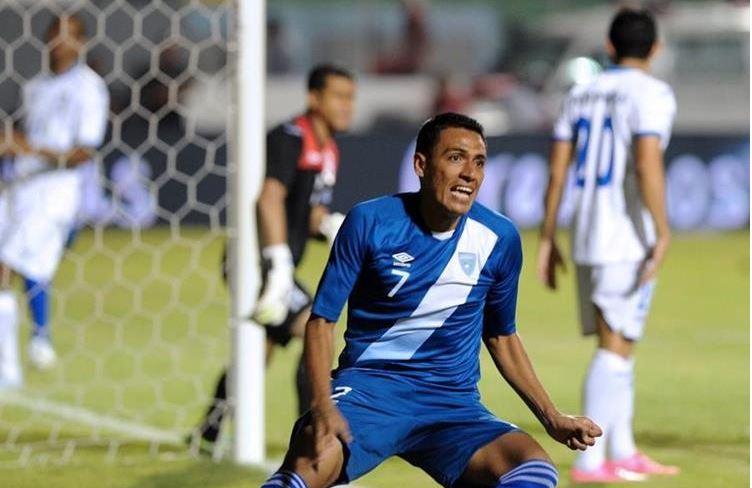 Guatemala enfrentó a Honduras en octubre del año anterior e igualó a un gol. (Foto Prensa Libre: Hemeroteca PL)