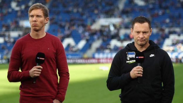 Al igual que Jurgen Klopp, Nagelsmann mantiene una buena química con los aficionados, tanto por sus forma de ser en el campo como por sus apariciones en televisión. (Foto Prensa Libre: Getty Images)