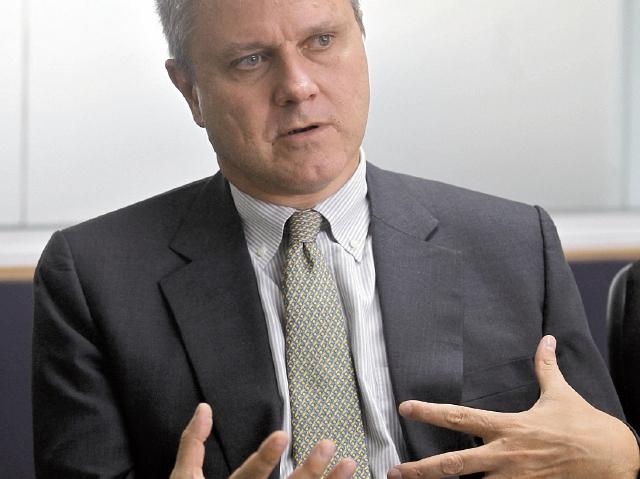 Stefano Gatto, embajador de la UE en Guatemala, analizó el tema de la Ley de Competencia.