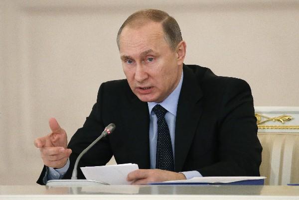 Vladimir Putín, presidente de Rusia.