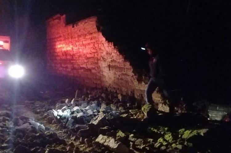 En Chichicastenango, Quiché, también se reportaron daños en viviendas.