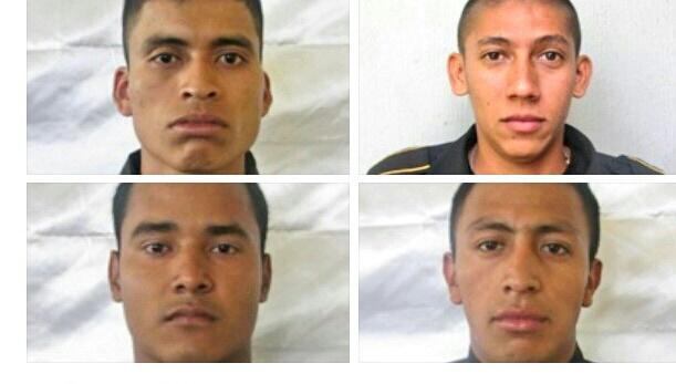 Los agentes tenían a su cargo patrullar la ruta al Atlántico y El Salvador. (Foto Prensa Libre: PNC)