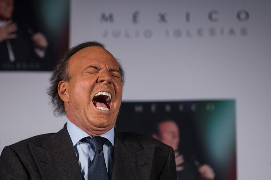 Julio Iglesias promociona nuevo material de estudio. (Foto Prensa Libre: AP)