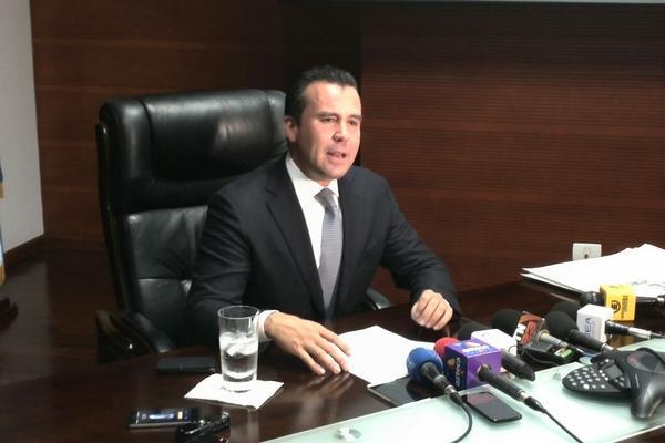 """<p>Alejandro Sinibialdi exministro de Comunicaciones desminitío los señalamientos en su contra. (Foto Prensa Libre: Óscar Rivas)<br _mce_bogus=""""1""""></p>"""