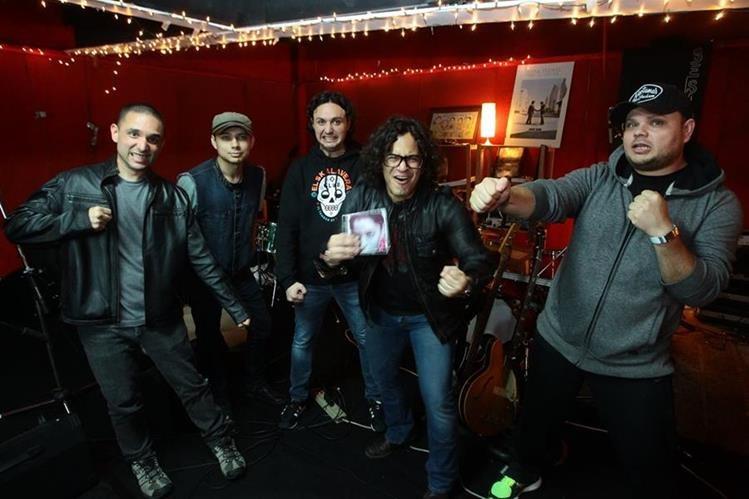 Las canciones del nuevo disco del Tambor de la Tribu reflejan el crecimiento de la banda. (Foto Prensa Libre: Álvaro Interiano)