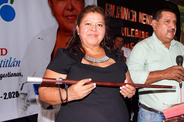 Blanca Estela Mendoza (San Martín Zapotitlán, Retalhuleu) buscará mejorar los servicios básicos, con  mayor atención en agua y drenajes; además, fomentará el desarrollo social. Nuevo San Carlos