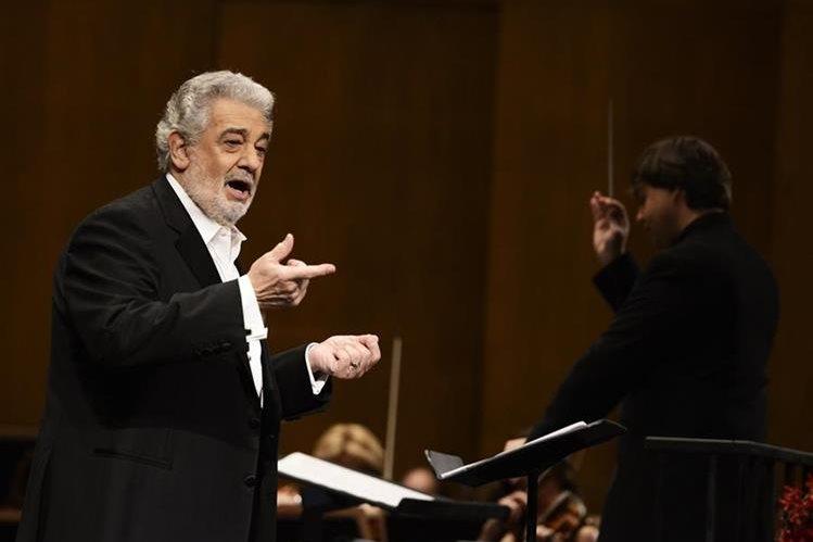 El tenor español Plácido Domingo participará en mango concierto en México. (Foto Prensa Libre: Hemeroteca PL)