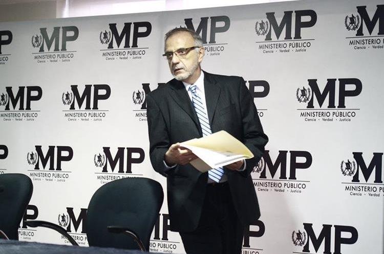 Iván Velásquez aseguró días atrás que no renunciará al cargo. (Foto: Hemeroteca PL)