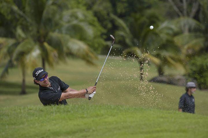 José Toledo es uno de los dos golfistas profesionales que tiene Guatemala. También está Pablo Acuña. (Foto Prensa Libre: Cortesía José Toledo)