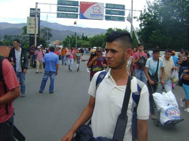 Jesús Rosales dice huir por Cúcuta de agentes del Estado venezolano que le persiguen por protestar contra Nicolás Maduro. GUSTAVO OCANDO ALEX