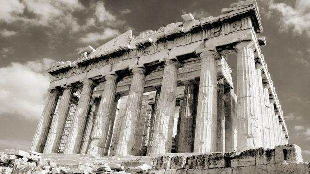 Se dice que incluso en la antigua Grecia hubo un ascensor. GETTY IMAGES